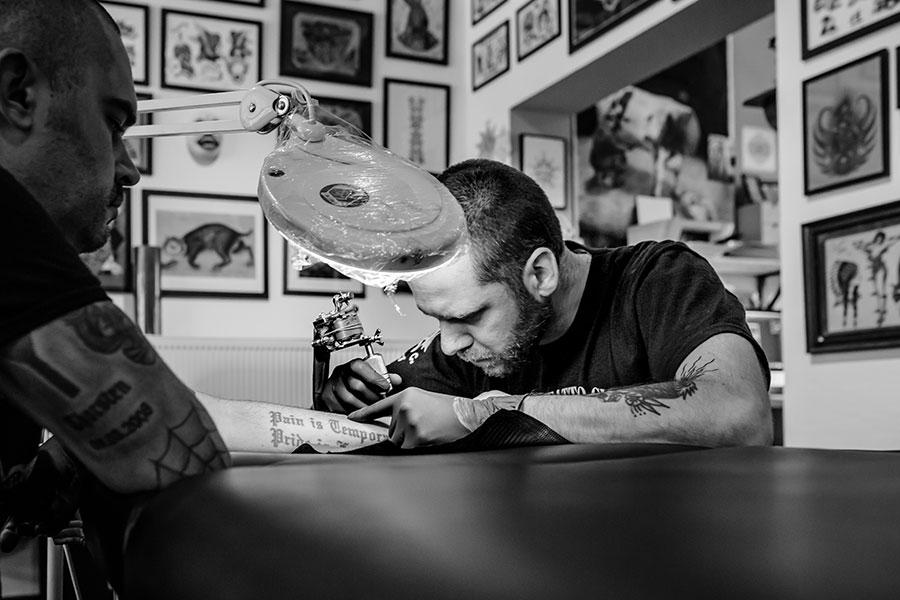 pip abraxas tattoo genk